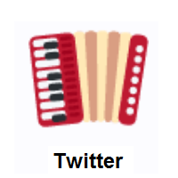 Accordion on Twitter Twemoji